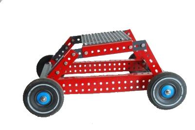 Metallbausatz Auto 2